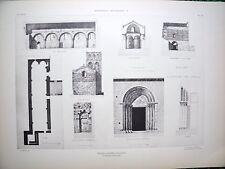 Eglise d'Espira de l'Agli ( Pyrénées-Orientales) planche début XX°