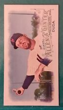 2016 TOPPS ALLEN & GINTER MINI LUCAS DUDA #127 NEW YORK METS NY