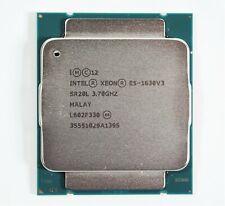 Intel Xeon E5-1630 V3 3.7GHz 4-Core 10MB SR20L LGA2011-3 CPU Processor