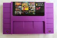 120 in 1 SNES Super Nintendo Multi Cart Game Battery Save USA Seller NTSC