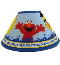 Sesame Street Lamp Shade Big Bird Cookie Monster Elmo Bert and Ernie Zoe 2000's