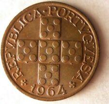 1964 PORTUGAL 20 CENTAVOS - Excellent Coin BARGAIN BIN #137