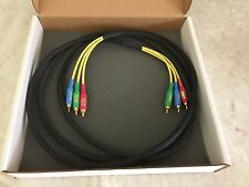 XLO Electric/VDO ER-DVD-3 Component Video Cable - 3 mt RCA-RCAx3 - Orig cost$150