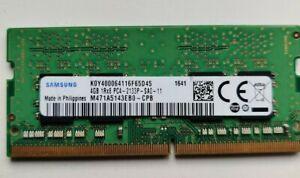 LAPTOP RAM - SAMSUNG  4GB   DDR4   2Rx8   PC4-2133P  TESTED