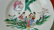 Four vintage hand decorated YT  Chinese Porcelain plates/bowls