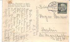 Reich Brief / Karte Gasthaus Alpenfriede + Hotel Schöne Aussicht Sölden 3.5.1941