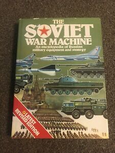 THE SOVIET WAR MACHINE - Revised Edition - Book Cold War Russian Red Army Tanks