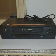 Philips Magnavox Vrx260At22 Vhs Vcr Player Recorder 4 Head Hi-Fi Stereo
