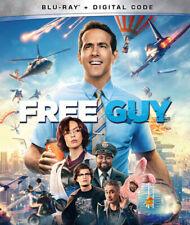 Free Guy (Blu-ray, 2021) Movie Comedy Action Ryan Reynolds Video Game Codi Comer