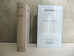 STENDHAL  Le Rouge et le Noir - GARNIER 2009 La bibliothèque  NEUF