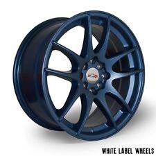 "4 x White label JPR 17"" x 8"" et35 4x100 alloys - BMW MINI inc Cooper Blue!"