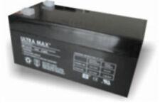 Ultramax 12v 3,3 ah (2,8 Ah) Alarma Panel Batería