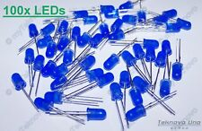 100x Blue Color LED WET Diffused Round Style 5mm 2.6 - 3.0 V 15mA - USA