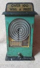 whiz ball machine 1940`s old penny arcade slot machine fairground allwin antique