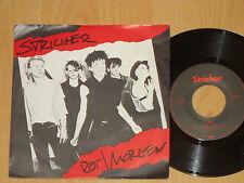 """7"""" STRICHER - ROT / MORGEN  DAVID VOLKSMUND PRODUKTION produziert von RIO REISER"""