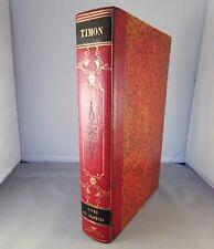 TIMON / LIVRE DES ORATEURS / 1844 PAGNERRE (GRAVURES) demi-reliure romantique