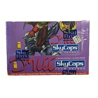 1993 Skybox Jim Lee Skycaps Pogs 36 Packs Factory Sealed Skybox Wildcats
