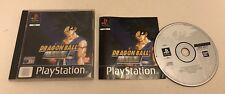 Dragon Ball Z Final Bout Sony PlayStation PS1 Complete Black Label Namco Bandai