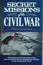 SECRET MISSIONS OF THE CIVIL WAR (NORTH & SOUTH) 1990 BOOK