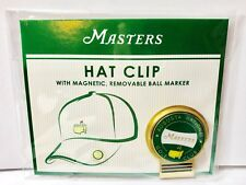 2018 Masters Golf HAT CLIP with BALL MARKER from AUGUSTA NATIONAL