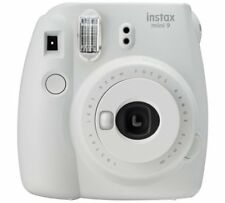 instax Mini 9 Camera with 10 shots - Smoky White Instant Credit Card Sized Print