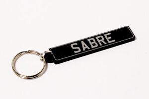 Reliant Sabre Keyring - UK Number Plate Classic Car Keytag / Keyfob