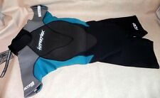 NEW Hyperflex Wetsuits Women's Access 2.5mm Back Zip Spring Back/Teal ~ Size 6