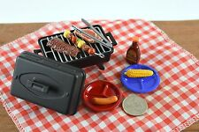 Re-ment Meal BBQ NIGHT Miniature Food New Dollhouse Accessories Grill 1/6 Scale