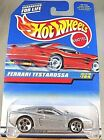 1997 Hot Wheels Collector #784 FERRARI TESTAROSSA Silver w/Chrome 5Dot Sp-Varia