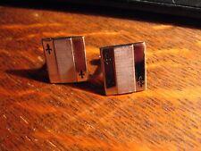 Fleur De Lis Cuff Links - Vintage Mid Century Swank Spade Playing Card Cufflinks