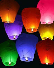 Chinese Fire Fly Sky Paper Kongming Floating Wishing Lantern Wedding Party