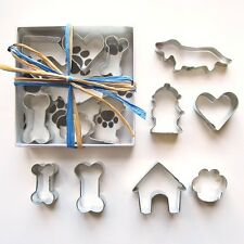 Seven Piece Mini Dachshund Cookie Cutter Set - FREE SHIPPING