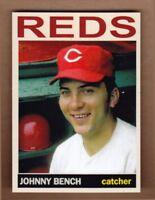 Johnny Bench '68 Cincinnati Reds Monarch Corona Private Stock #8 mint cond.