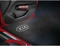 Genuine Kia Sportage 2018> Door Projection Lights -WHITE KIA Logo - 66651ADE00K