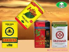 Yerba Mate - Canarias - Rosamonte - Taragui - 4 Kilos - 8.9 Lbs - Many Choices