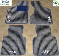 MASERATI 2.24 224 TAPPETI tappetini AUTO 1cm + 4 loghi