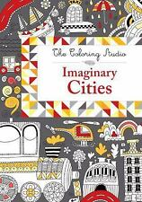 The Coloring Studio: Imaginary Cities 4 (2016, Paperback) coloring book adult