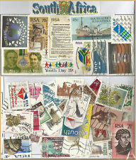 CHARITY STAMP PACKET SOUTH AFRICA 50 POSTAL USED STAMPS 0422