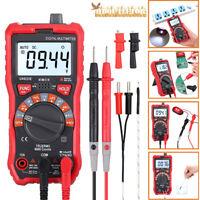 Professional Digital Multimeter Ammeter 10A LCD Capacitance Voltage OHM AV LU