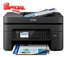 New Epson WorkForce WF-2850 All-In-One Wireless-Scanner-Fax-Inkjet Printer
