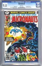 Micronauts #8 (1979) CGC 9.8 *1st Appearance of Captain Universe*