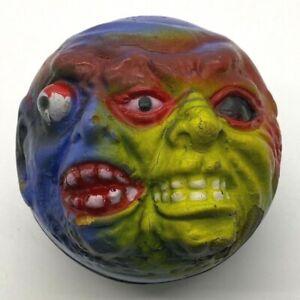 Vintage FREAK Ball Eltor Ego Foam Ball 1986 2 Faced Four Star KO Mad Ball