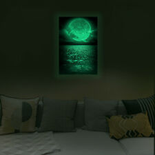 Luminous Glow in the Dark Abstract Picture  Wall Sticker Home Art Decor