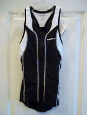 New Craft Sports Womans Pt Singlet Xs Black/White Tri