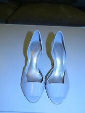 Aldo Ivory Peep-Toe Pump Sz 38 or 7-1/2 ~ EUC!