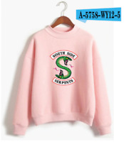 Riverdale Sweatshirts for women and men without hoods with long sleeves Casual w