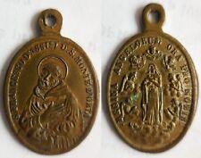 medaglia devozionale San Francesco d'Assisi monte d'Orta Novara