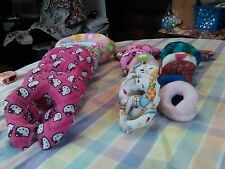 Miniature Boppy pillows for any size miniature doll/hello kitty/other prints