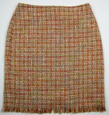 TROUSERS ETC. Multi-Color Cotton Blend w/Lining Skirt sz 6