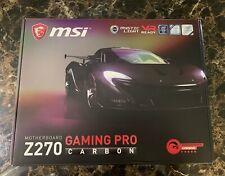 MSI Z270 GAMING PRO CARBON LGA 1151, Intel Motherboard